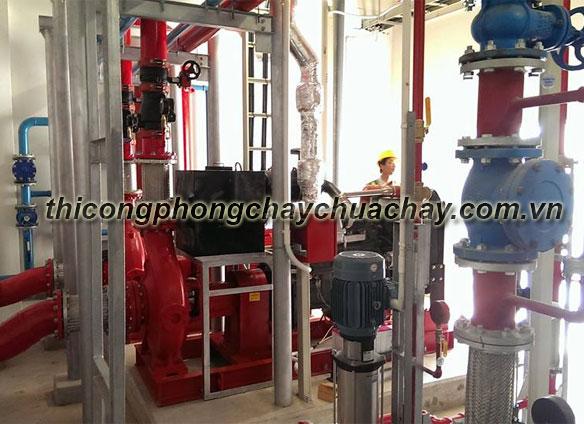 Quy trình bảo trì hệ thống phòng cháy chữa cháy