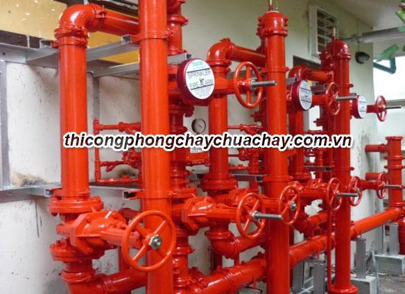 Những hệ thống phòng cháy chữa cháy phổ biến hiện nay.