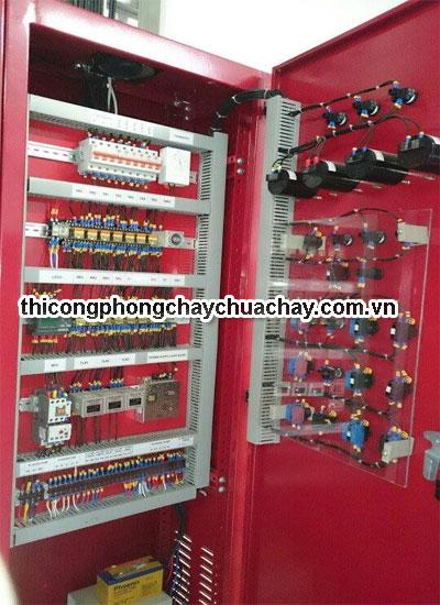 Nguyên tắc hoạt động của tủ điện phòng cháy chữa cháy