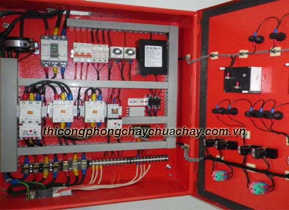 Thiết kế tủ điện phòng cháy chữa cháy cho các hệ thống cứu hỏa