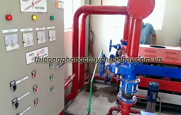 Dịch vụ lắp đặt tủ điện phòng cháy chữa cháy  nhanh chóng, giá rẻ tại Miền Bắc