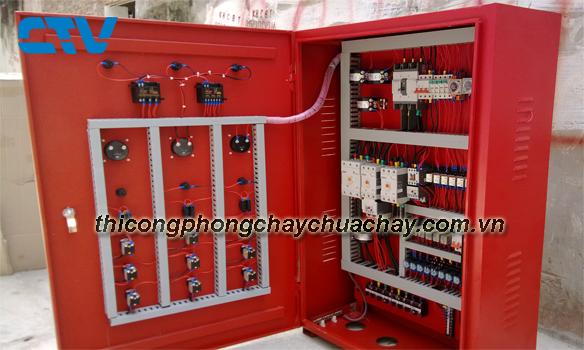 Chuyên Thiết kế tủ điện cho hệ thống cứu hỏa