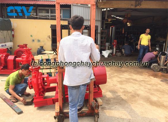 Dịch vụ thi công và lắp đặt hệ thống pccc uy tín, giá rẻ cho khách hàng tại Hà Nội
